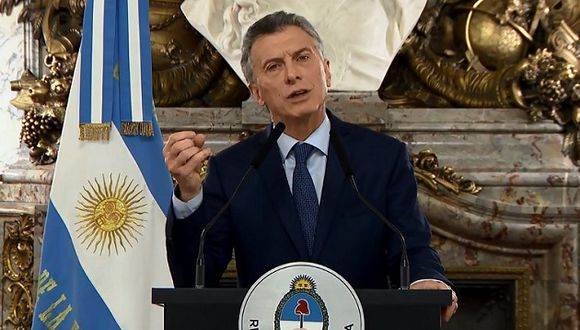 Mauricio Macri indicó que 'esta crisis tiene que ser la última' (Foto: AFP)