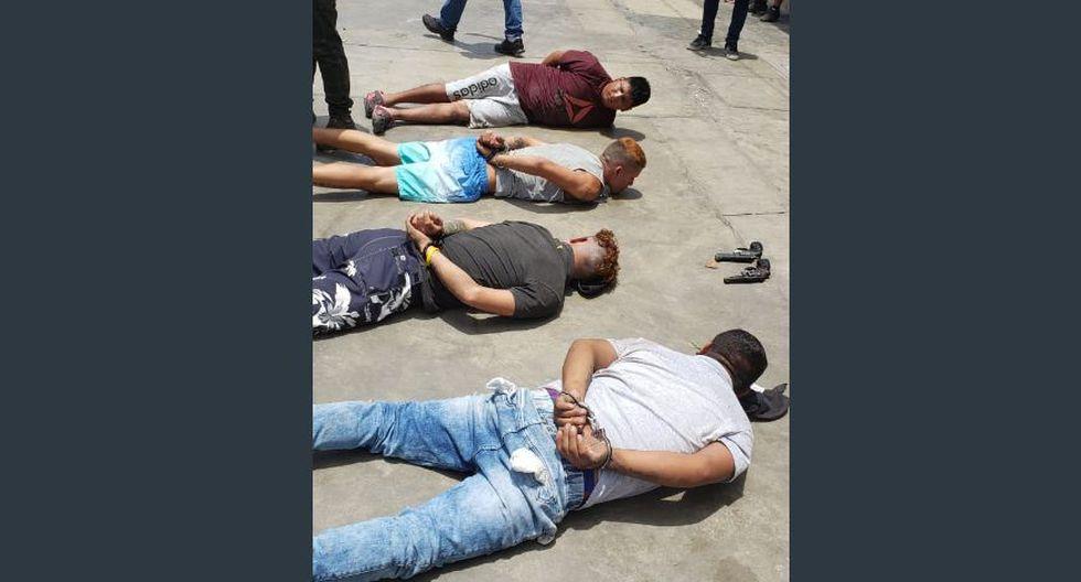 La operación estuvo a cargo del Departamento de Investigación Criminal de Los Olivos. (Foto: Mininter)
