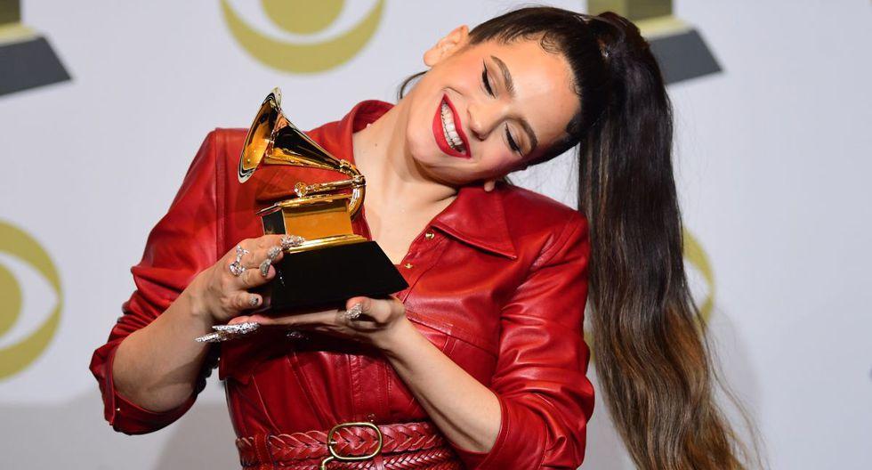 La cantante española Rosalía sigue cautivando a sus seguidores. (AFP)
