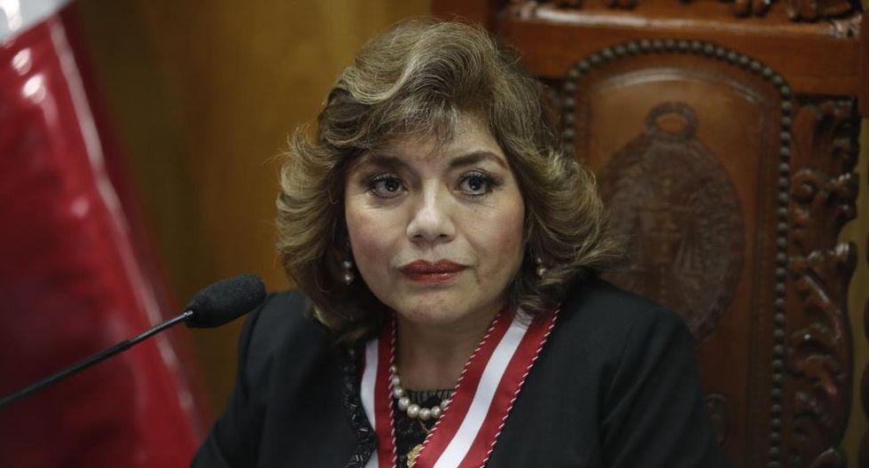 La fiscal de la Nación, Zoraida Ávalos, decidió recoger el testimonio de Marianella Ledesma. (Foto: GEC)
