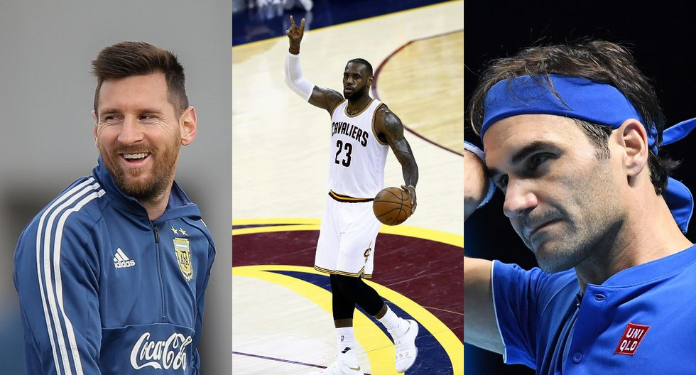 Forbes dio a conocer hoy el listado de los deportistas mejor pagados a nivel global. Futbolistas, basquetbolistas y tenistas figuran en el ranking. (Fotos: EFE)