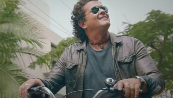 Carlos Vives presentó video de Lima.