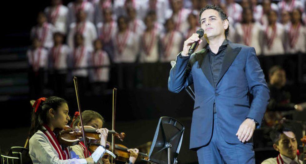 Juan Diego Flórez cantará en concierto gratuito en Lima.