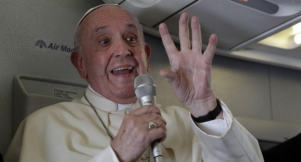 Papa Francisco regresa al Vaticano luego de su gira por Mozambique, Madagascar y Mauricio. (Foto: AFP)