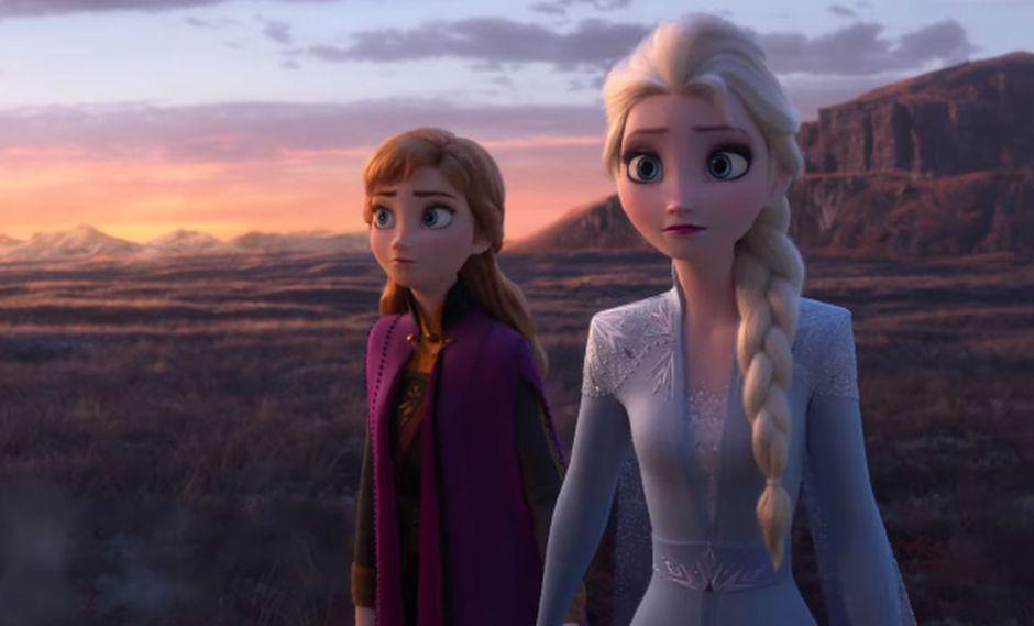 """""""Frozen 2"""" llega a los cines después de casi seis años del estreno de la primera cinta.(Foto: Captura de video)"""