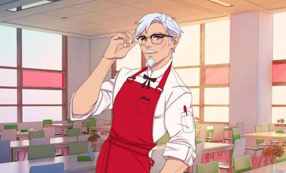 KFC anunció el lanzamiento de su juego del tipo simulador de citas. (Foto: KFC)