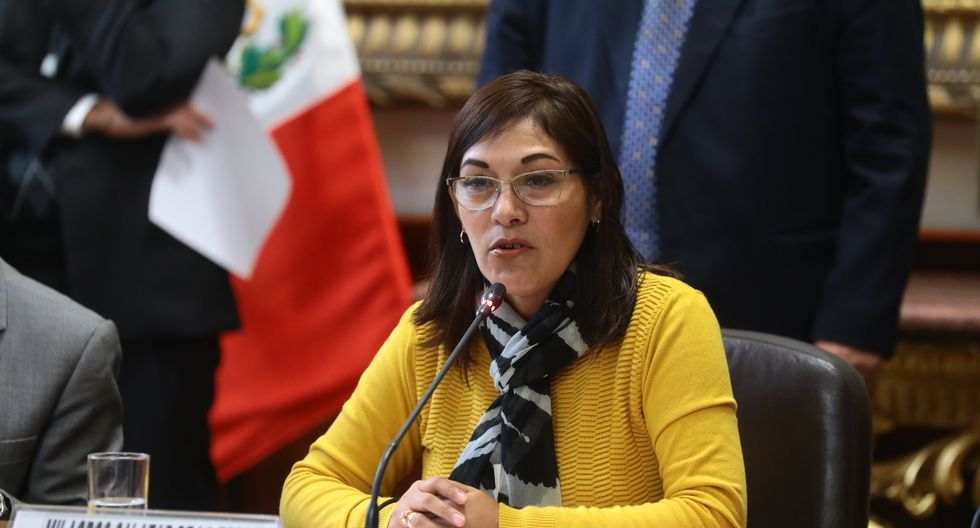 La congresista Milagros Salazar señaló que la investigación a las encuestadoras no forma parte de la agenda de Fuerza Popular. (Foto: Congreso)