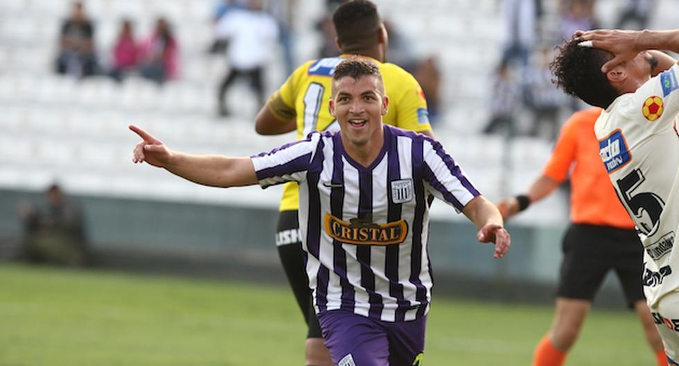 Gabriel Costa lleva 8 goles anotados con Alianza Lima en lo que va de la temporada. (Erick Nazario)