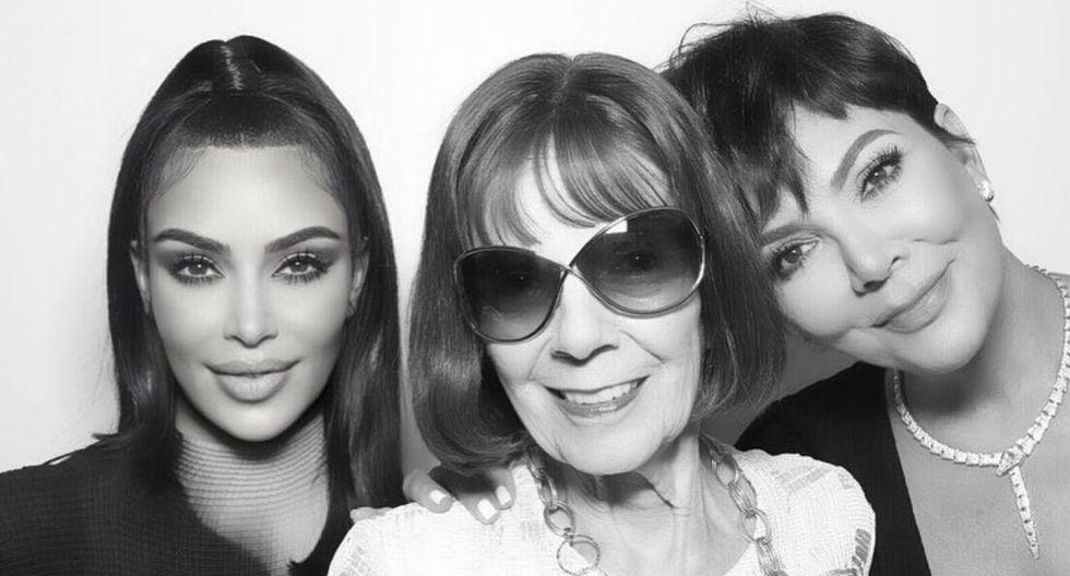 La abuela del clan de las Kardashian está de cumpleaños y Kim Kardashian fue la primera nieta en saludarla. (Foto:@kimkardashian)