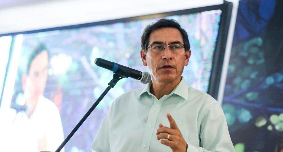 Vizcarra fijó su posición respeto a la intención de la Comisión Permanente de solicitar información sobre devolución de dinero a Odebrecht. (Foto: GEC)