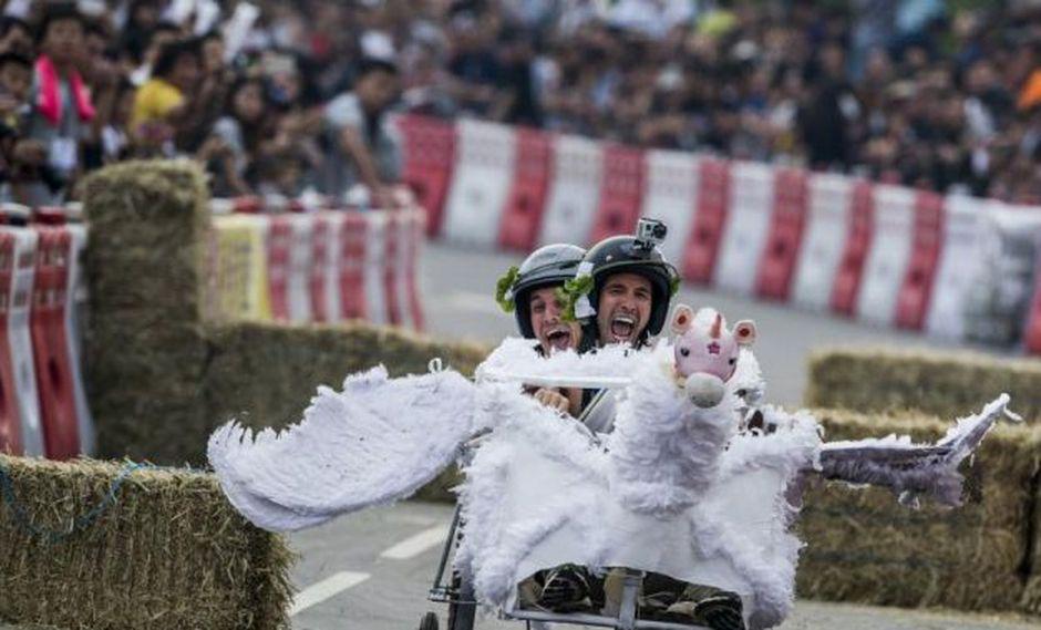 El Red Bull Soap-box Race se ha realizado en 30 países. (Foto: Red Bull Perú)