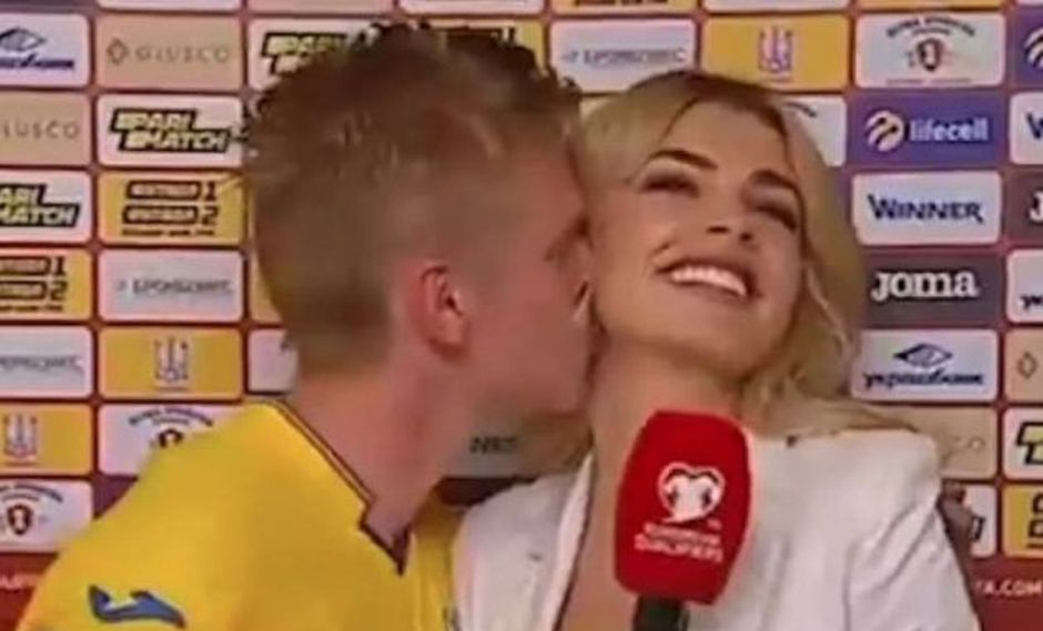 YouTube: fallido beso a lo Iker en Ucrania.