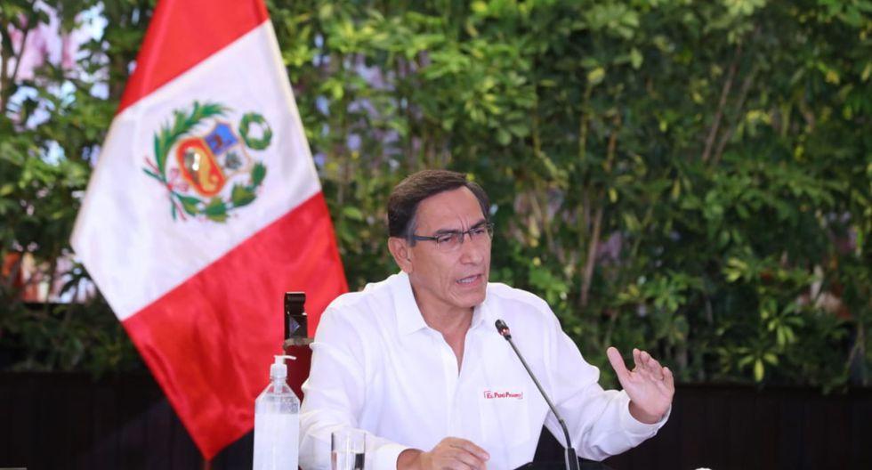 El presidente Martín Vizcarra indicó que serán más estrictos con quienes incumplan con las medidas dispuestas por su gobierno. (Foto: Presidencia)