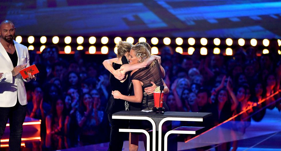 "MTV Awards: Brie Larson dedica el premio de ""Mejor pelea"" a sus dobles de ""Capitana Marvel"". (Foto: AFP)"