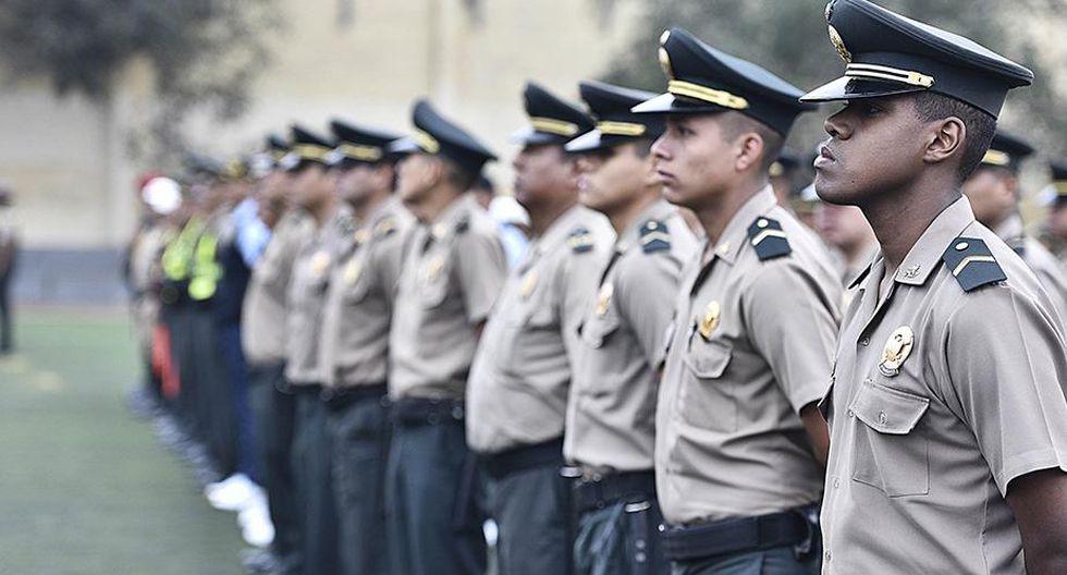 Presentan proyecto de ley de protección policial que exime de responsabilidad penal a policías. (Foto: Andina)