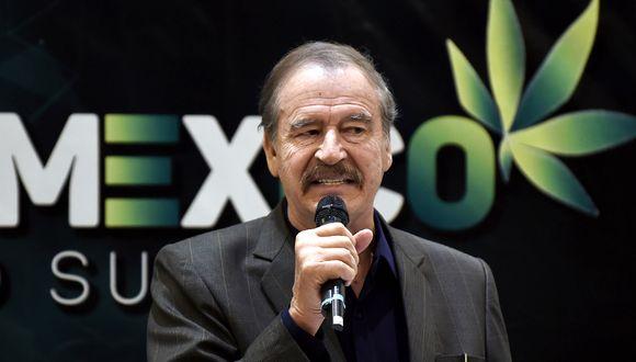 """El expresidente de México (2000-2006) Vicente Fox sorprendió al afirmar en CNN que  """"difícilmente tiene para comer"""". (Foto: AFP/ALFREDO ESTRELLA)"""