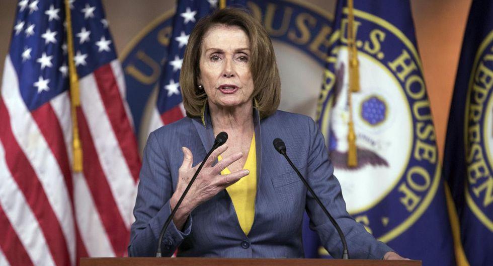 El video manipulado parece haber sido tomado del discurso de Nancy Pelosi durante una conferencia en Washington el martes. (Foto: EFE)