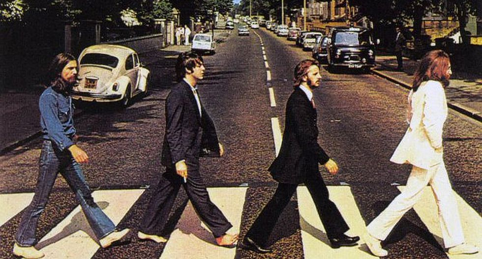 Portada del disco de The Beatles