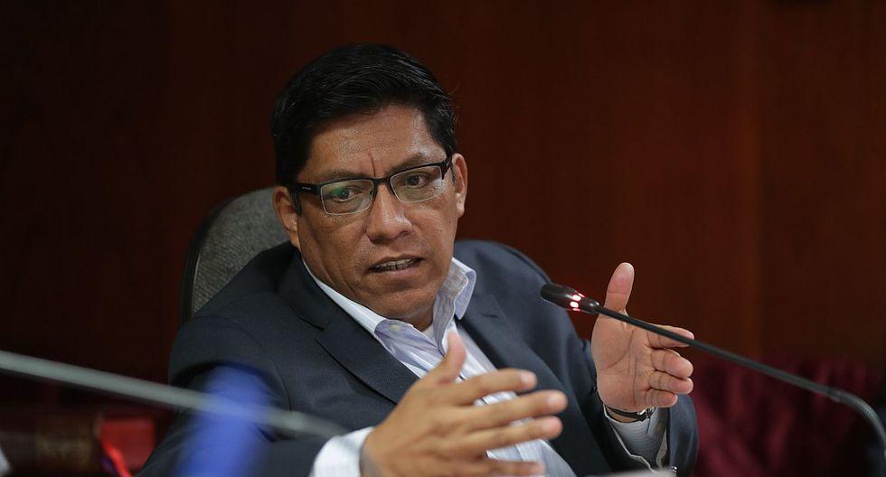 El ministro de Justicia, Vicente Zeballos, manifestó que César Villanueva fue, en algún momento, un posible candidato para la presidencia del Congreso. (Foto: GEC)
