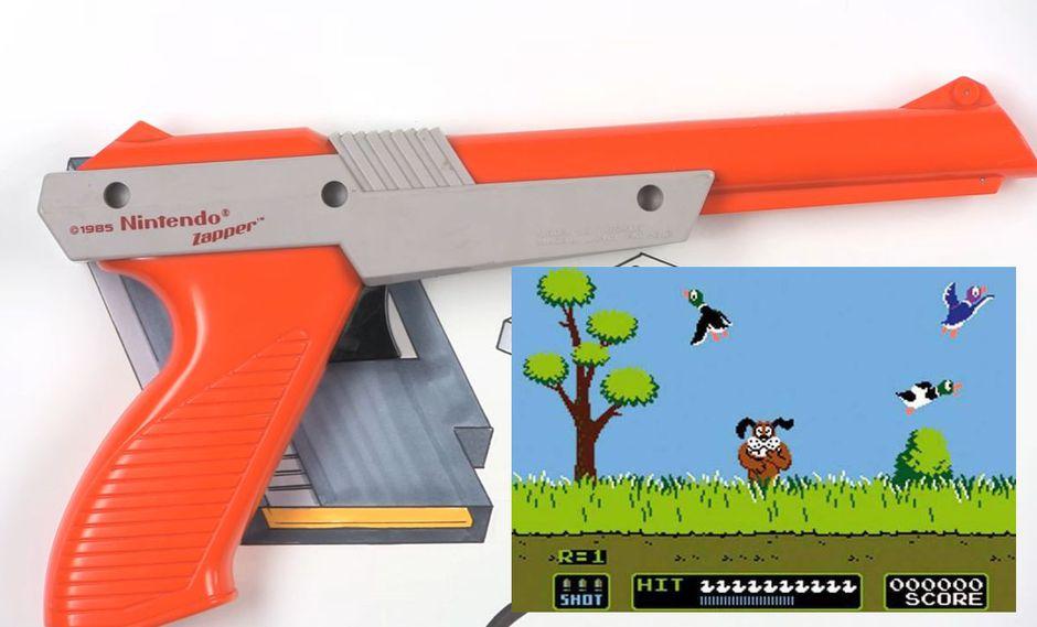 Así funcionaba la pistola para matar patos en Nintendo