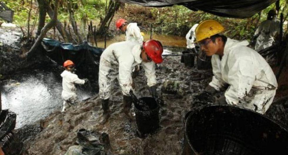 Derrame de petróleo en el 2016 (Foto: USI)