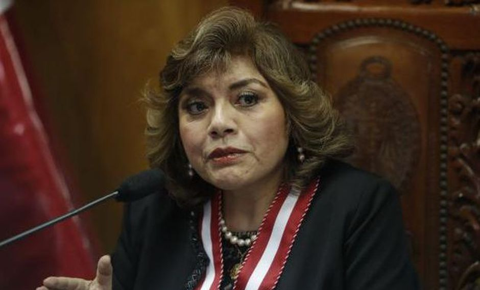 Zoraida Ávalos asumió el cargo luego que Pablo Sánchez rechazara el puesto tras la renuncia de Pedro Chávarry. (Foto:Andina)