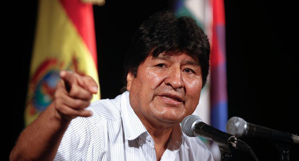 El expresidente de Bolivia, Evo Morales, durante una rueda de prensa en Buenos Aires. Morales ofreció una entrevista al diario alemán Zeit, donde indicó que cometió un error al volver a postular a las elecciones pasadas. (Foto: EFE)