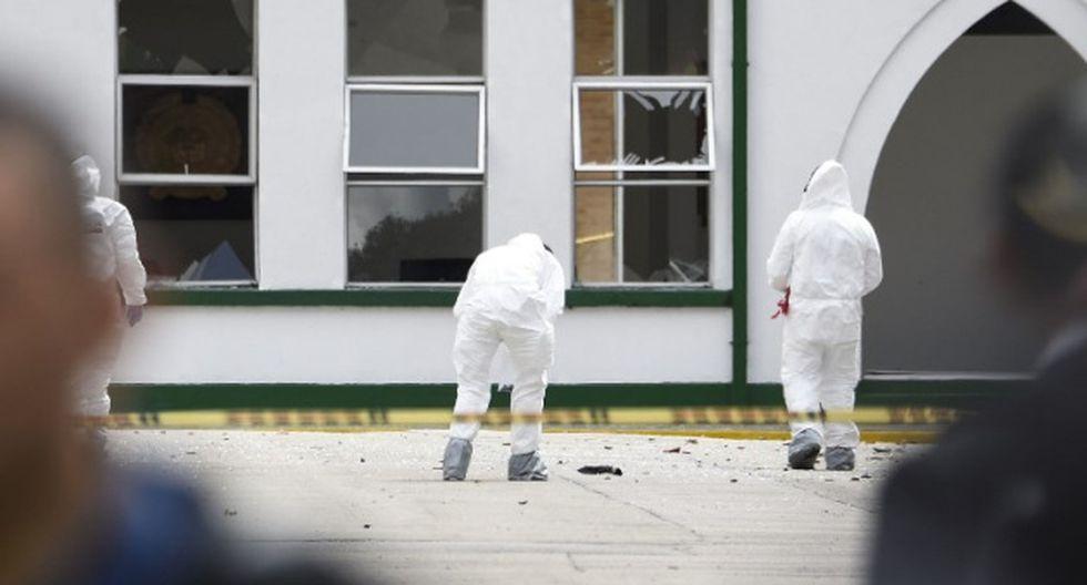 Colombia: atentado dejó momentos de terror en Bogotá.