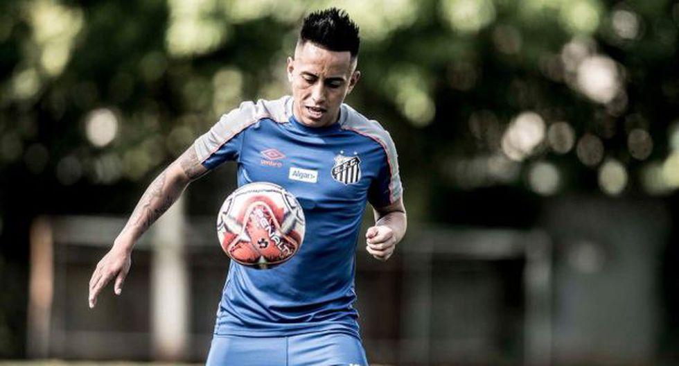 Christian Cueva será jugador de Santos hasta enero del 2022. (Foto: Santos FC)
