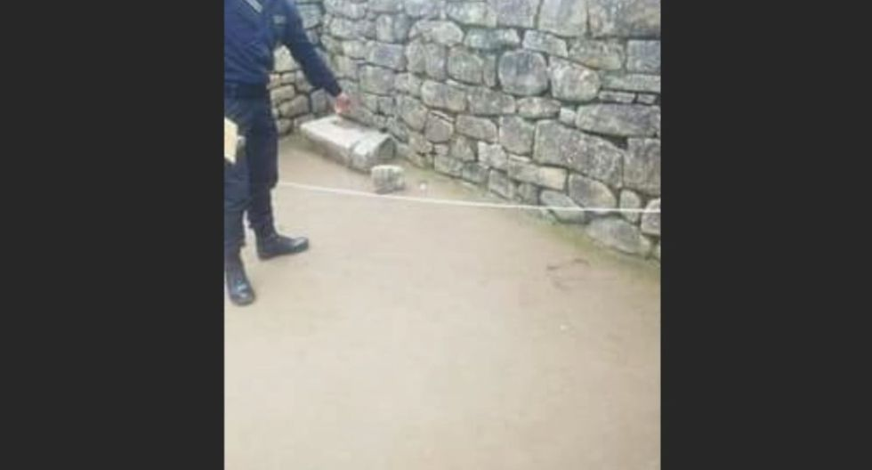 Los seis turistas, de diferentes nacionalidades, fueron detenido la tarde del domingo en Machu Picchu (Cusco) (Foto: Captura Canal N)