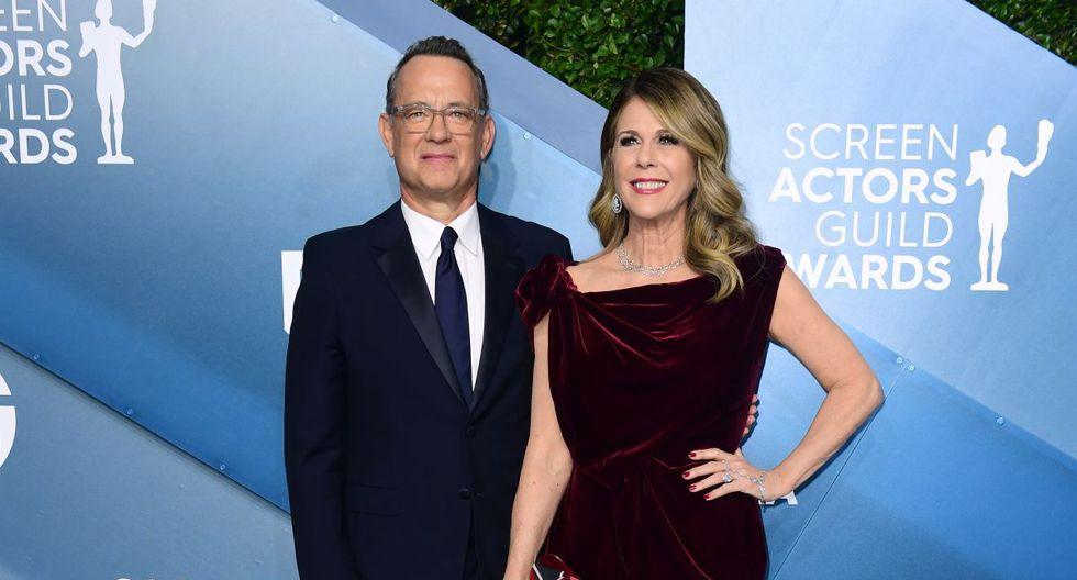 Tom Hanks fue dado de alta del hospital australiano donde estaba aislado el 17 de marzo.  (AFP).