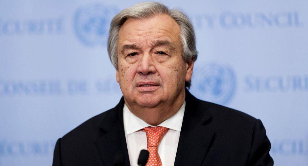 """Guterres consideró que la crisis del nuevo coronavirus requiere """"una cooperación y solidaridad internacional muy fuertes. (EFE)."""