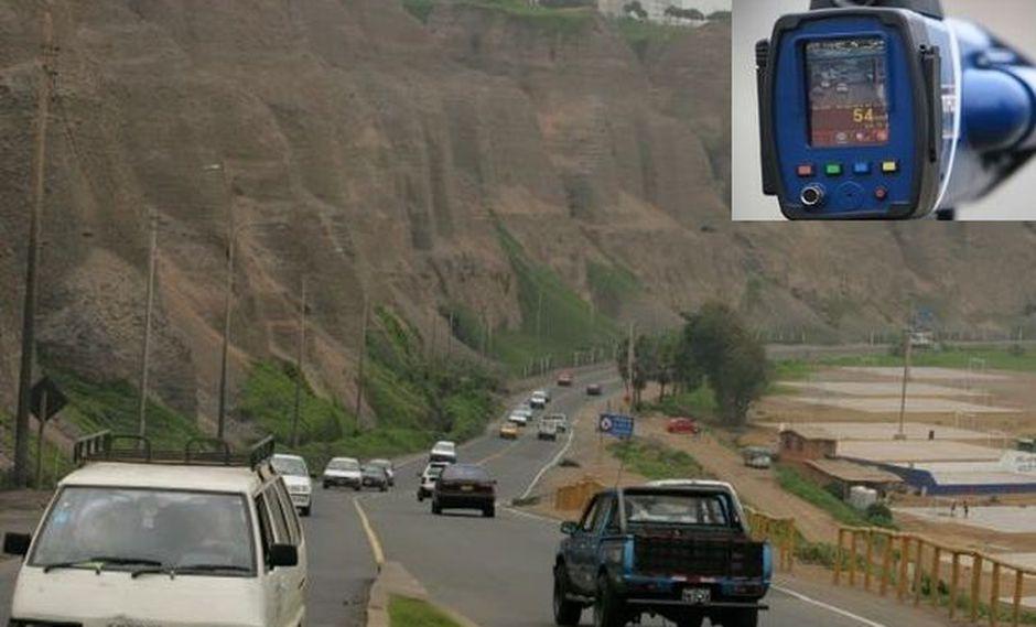 Costa Verde tendrá control de velocidad y fotopapeletas desde hoy