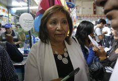 Ana María Choquehuanca se quebró al hablar sobre renuncia a bancada PpK