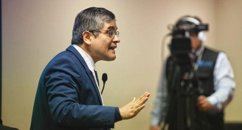 El fiscal José Domingo Pérez destacó los beneficios que trae la figura de la colaboración eficaz. (Foto: GEC)