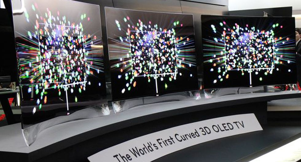 TV OLED de 55 pulgadas de LG como líder en tecnología y diseño presentado en el 2013. (Foto: LG)