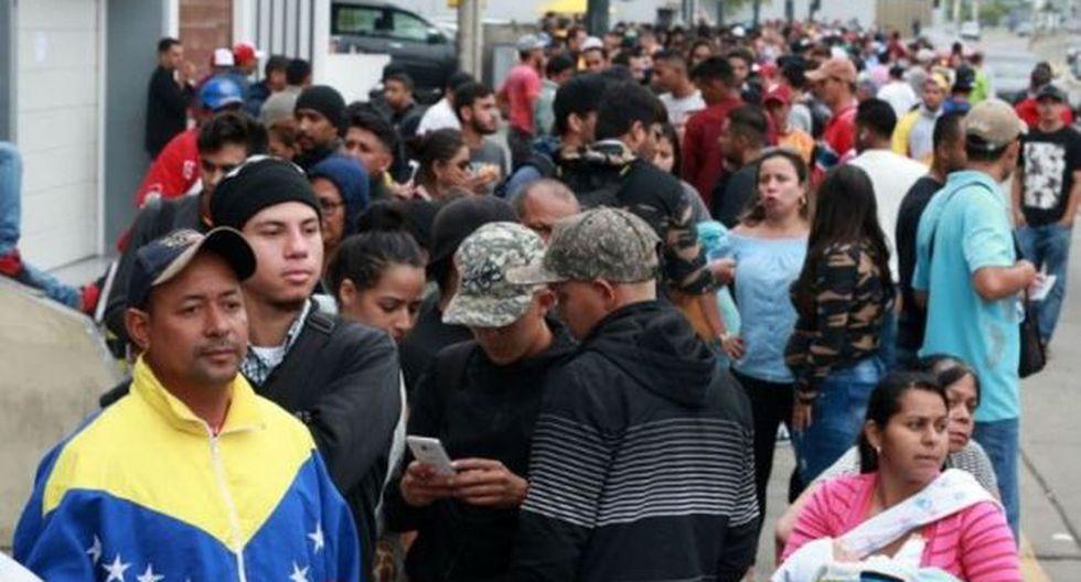 Desde hoy los venezolanos que lleguen al Perú deberán presentar pasaporte o visa humanitaria. (Foto: GEC)