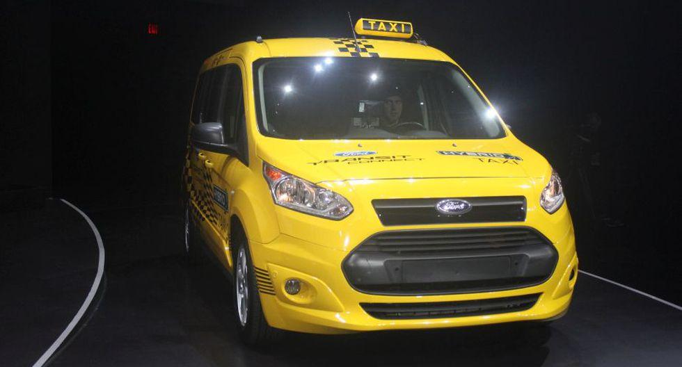Taxi híbrido de Ford. El futuro son los motores eléctricos. (Foto: Publimetro)