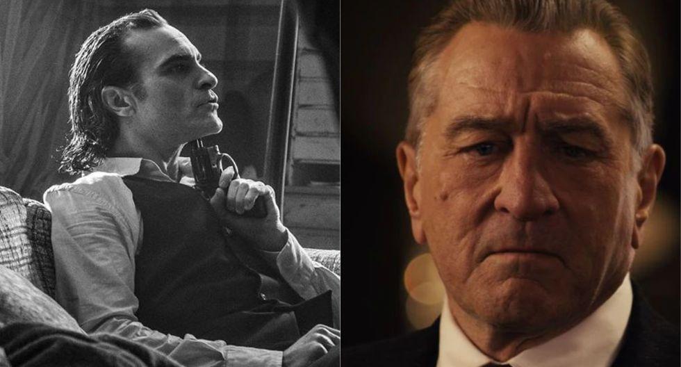 """""""The Irishman"""" y """"Joker"""", entre las nominadas al Globo de Oro a mejor drama (Foto: Instagram/Netflix)"""
