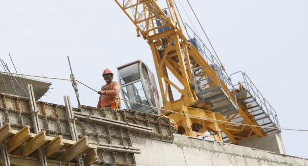 El sector construcción tuvo una evolución favorable en octubre. (Foto: USI)