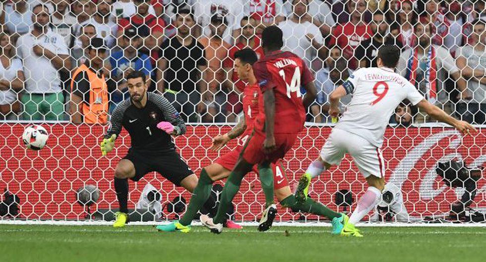 Portugal vs. Polonia por la Eurocopa 2016. (AFP)