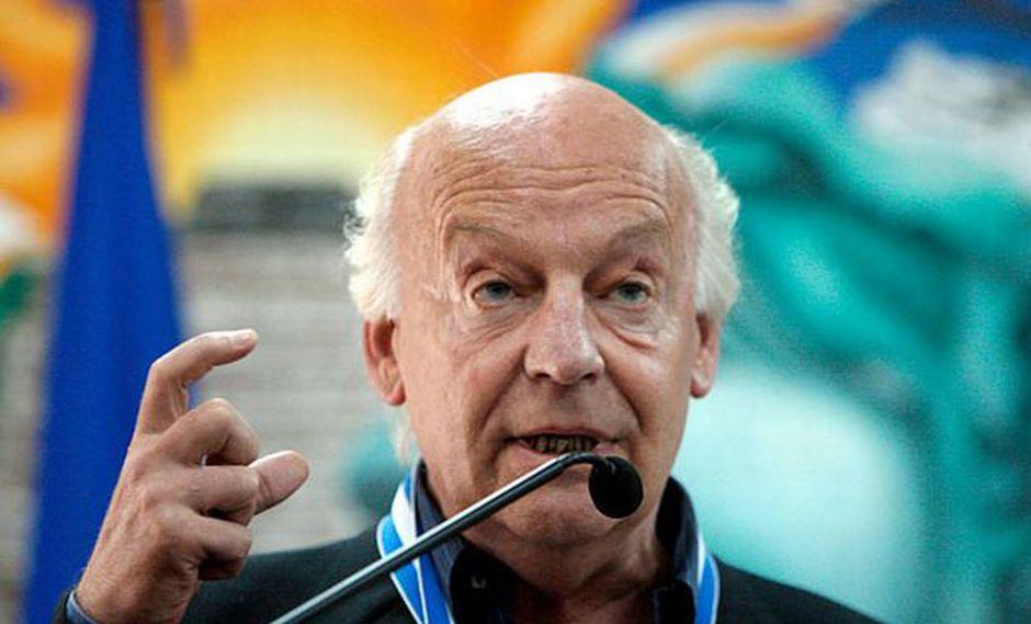 Escritor y periodista uruguayo Eduardo Galeano, miembro del jurado. (Foto: AFP)