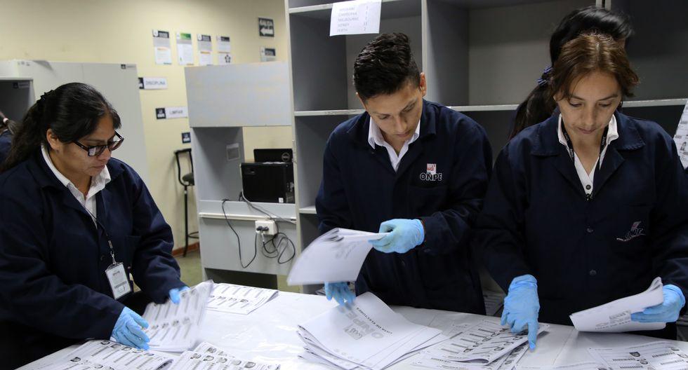 Se trata de más de 88 mil actas padrón que se utilizarán en cada una de las mesas de sufragio. (Foto: Difusión)