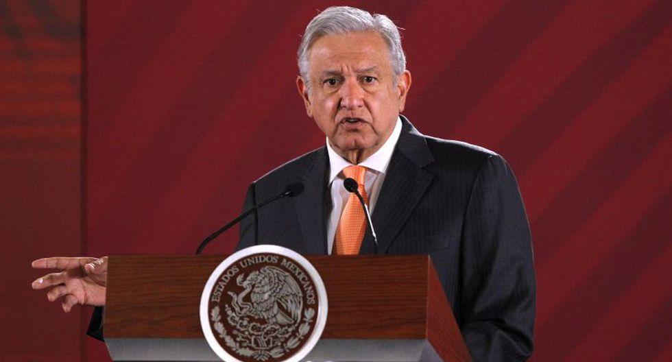 """El objetivo de AMLO es llevar a cabo un acto de """"reconciliación"""" entre México y España en el 2021. (Foto: EFE)"""