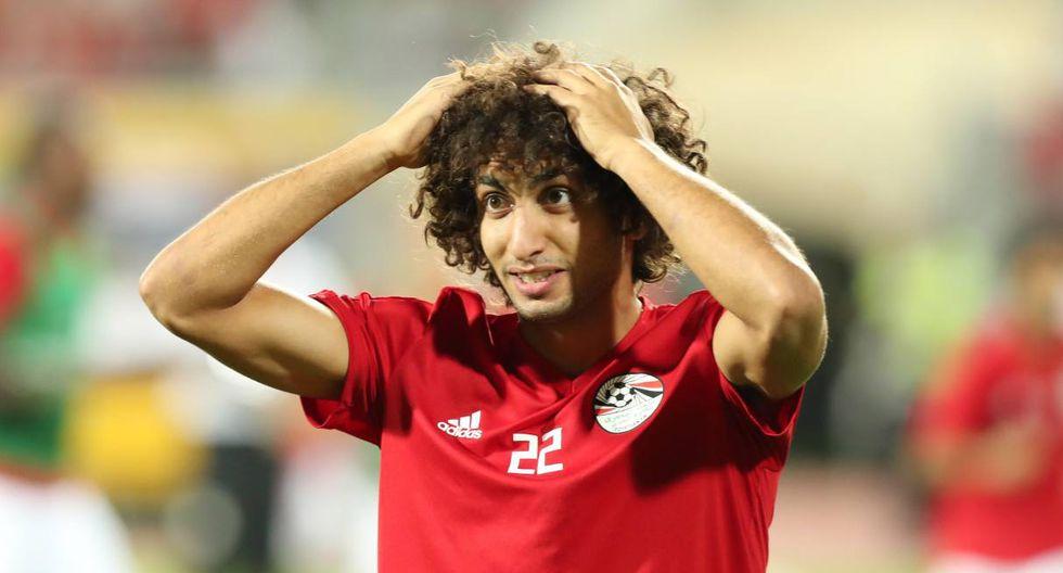 Amr Warda, acusado por una modelo, fue separado de la selección de Egipto. (Foto: EFE)
