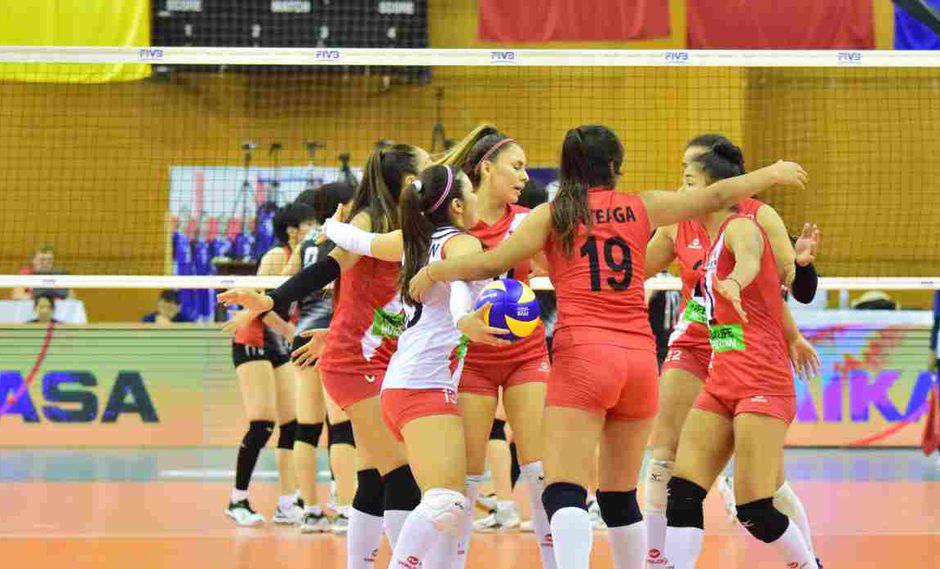 La selección peruana de vóley disputará los octavos de final del torneo. (Foto: FIVB)