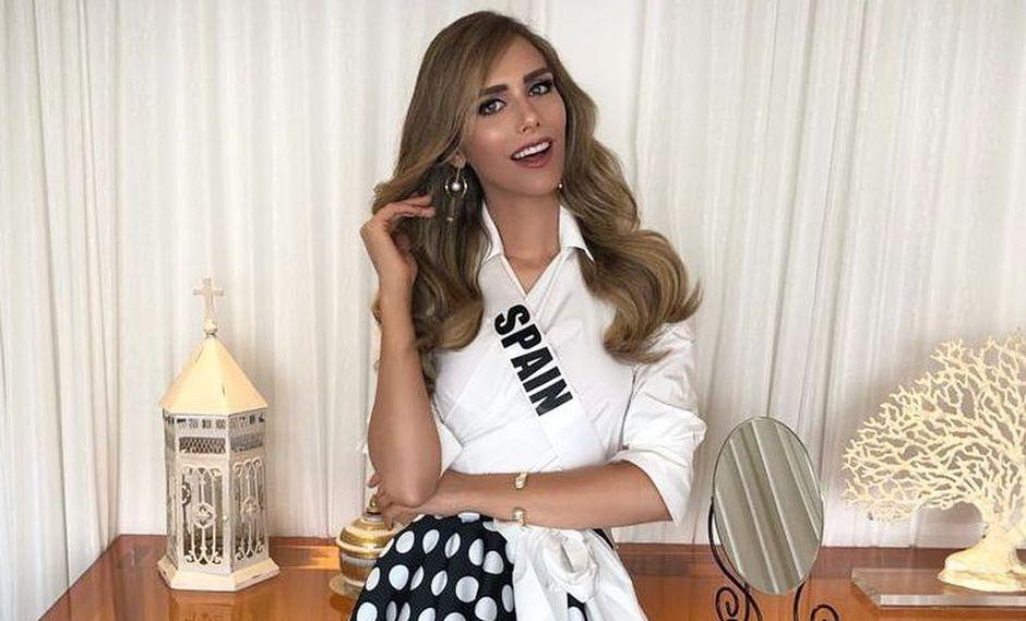 Ángela Ponce, representante de España en el Miss Universo 2018, quedó fuera del certamen de belleza. (Foto: @angelaponceofficial)