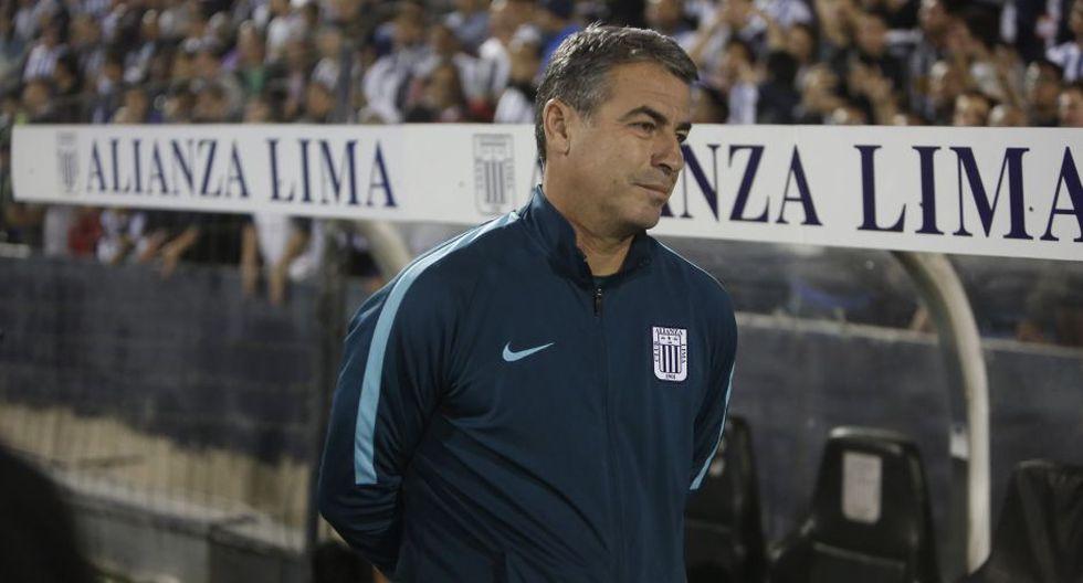Pablo Bengoechea obtuvo un título y dos subtítulos con Alianza Lima. (Foto: Cesar Campos/GEC)
