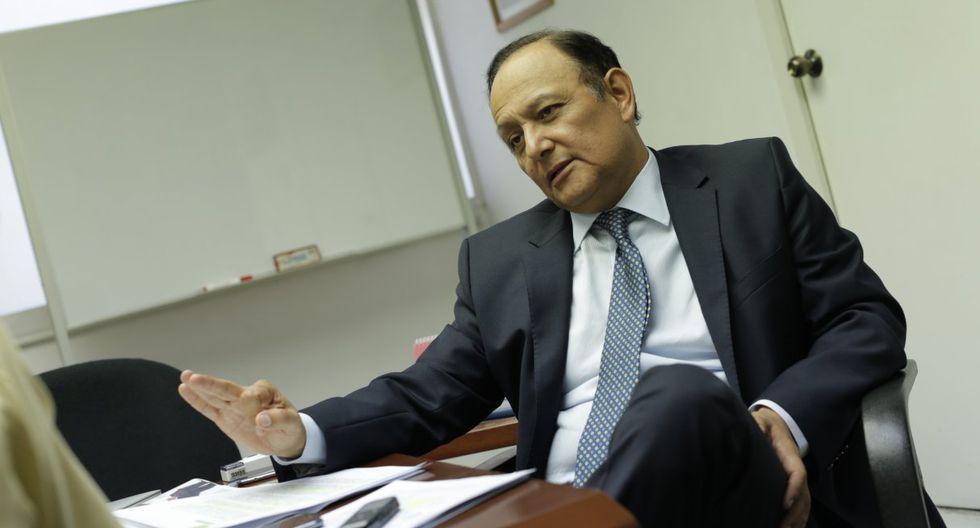 """Walter Gutiérrez comentó que un referéndum en el caso del proyecto minero Tía María """"empobrecería el debate"""". (Foto: GEC)"""