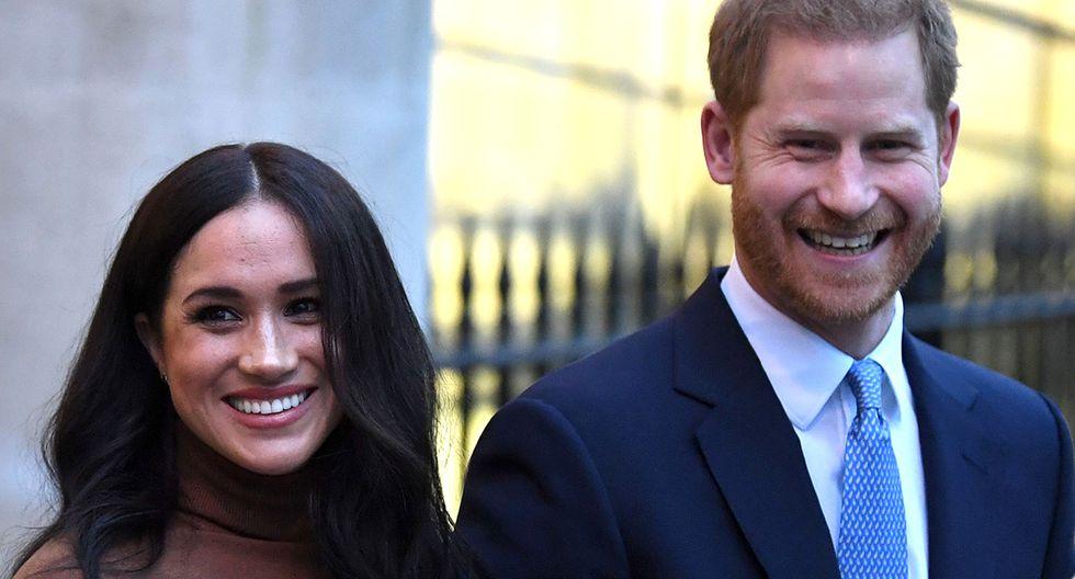 Harry y Meghan se alejan de la realeza británica, aunque mantienen sus títulos como duques de Sussex. (Foto: AFP)